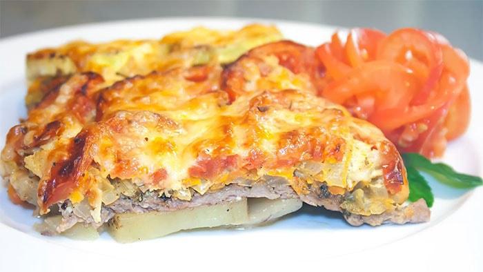 Мясо по-французски в духовке – вкуснятина