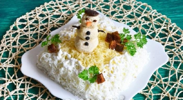 Готовый салат «Зимушка»