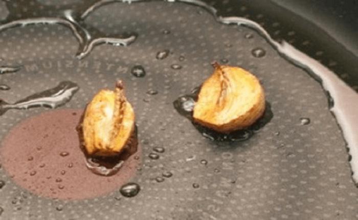 Обжаривание чеснока