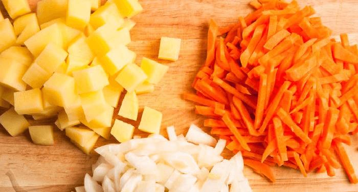 Шинковка овощей