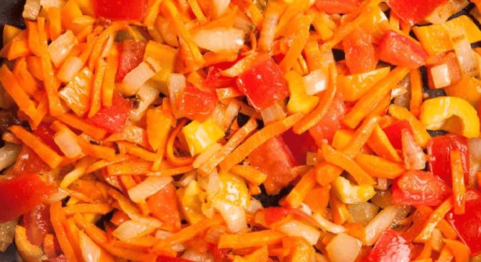Пассированные овощи