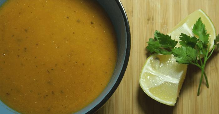 Турецкий чечевичный суп-пюре – готовое блюдо
