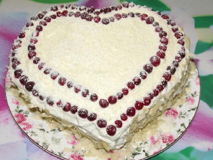Сердечный торт – картинка