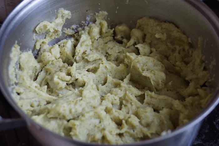 Изготовление пюре