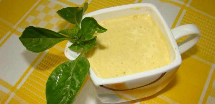 Майонеза с сухой горчицей