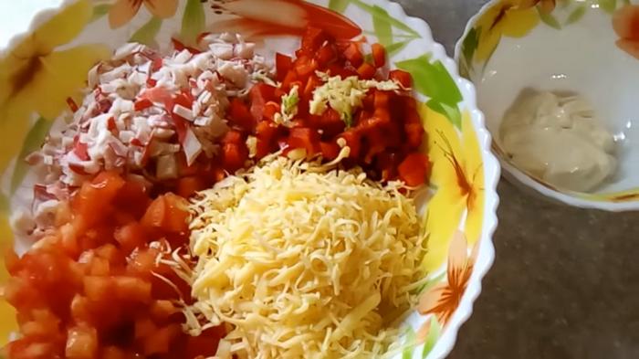 Все продукты в одной миске
