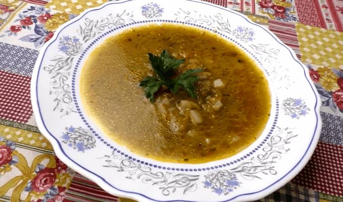 Чечевичный суп с тыквой – картинка