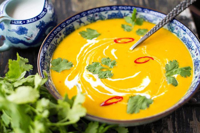 Тыквенный суп по классическому рецепту – картинка