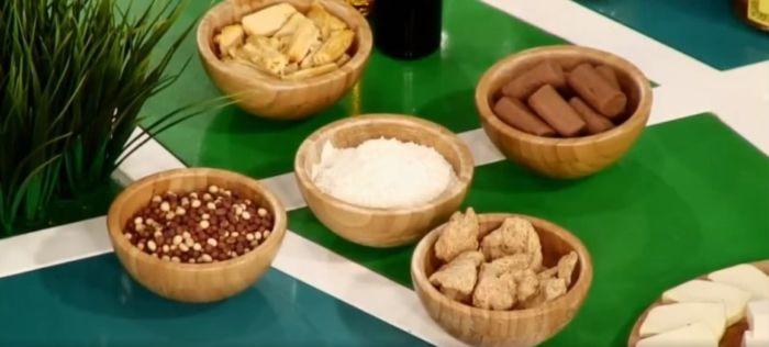 Ингредиенты рецепта вафель без сахара