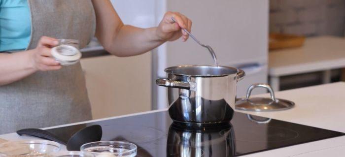 Заправка супа специями