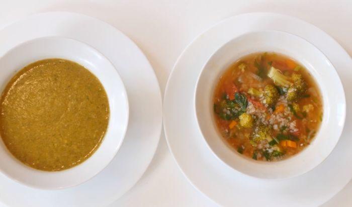 Гречневый суп с капустой