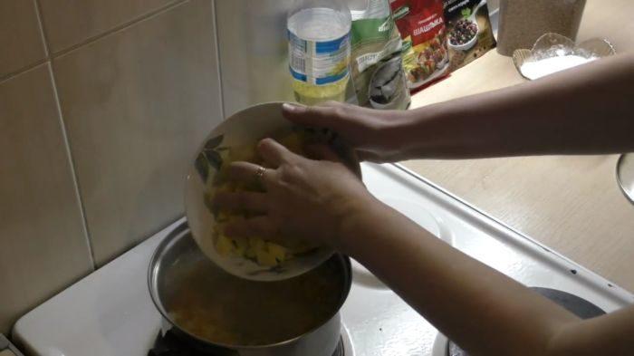 Добавка картофеля