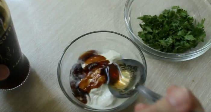 Добавка одной ложки соевого соуса