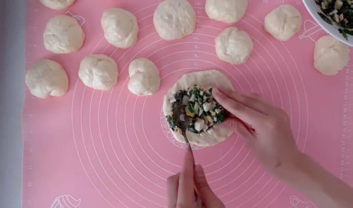 Приготовление заготовок пирожков