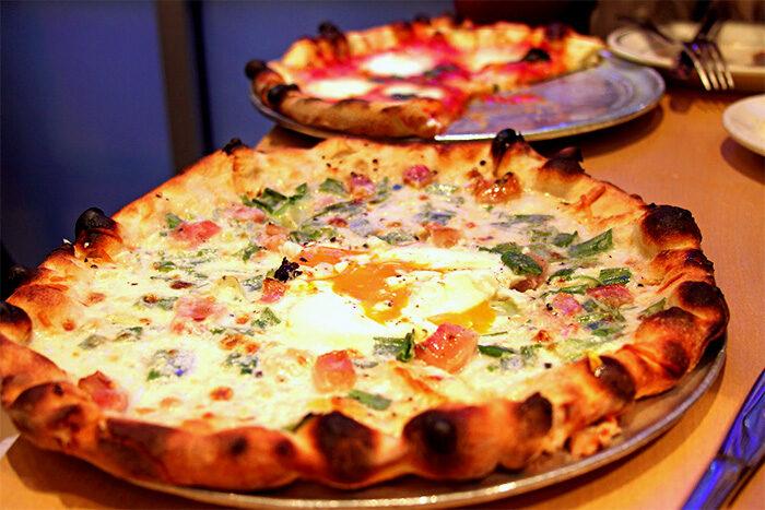 Пицца Карбонара – классический рецепт в домашних условиях