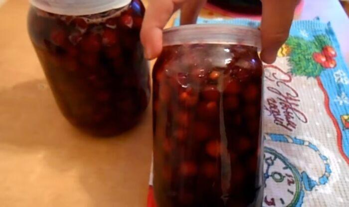 Варенье из вишни с косточками на зиму без стерилизации