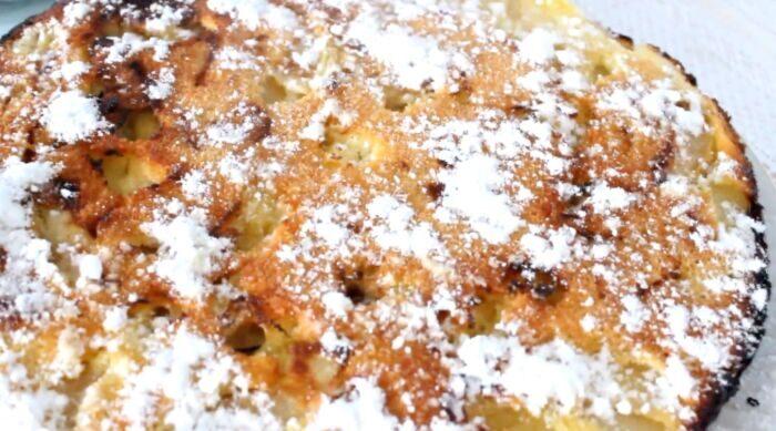 Шарлотка с яблоками в духовке – бабушкин рецепт